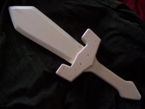 wooden klaive
